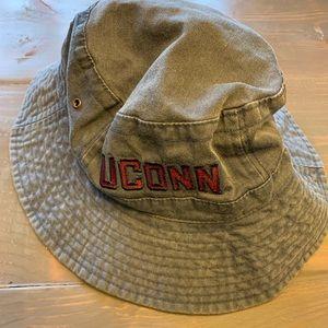 Other - UConn Denim Bucket Fisherman Hat